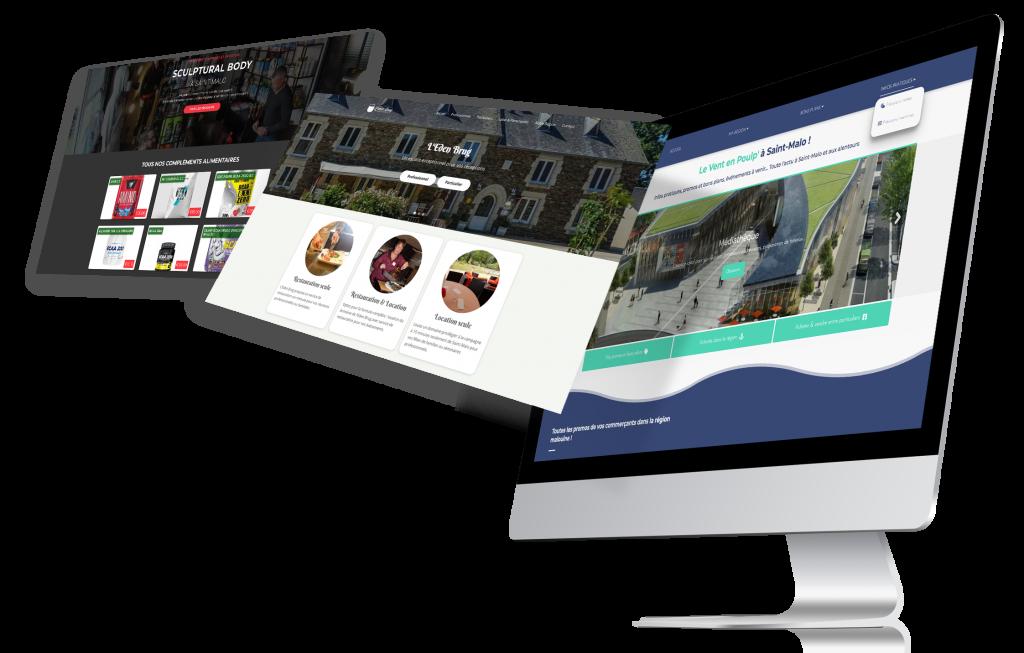 Sites web st-malo